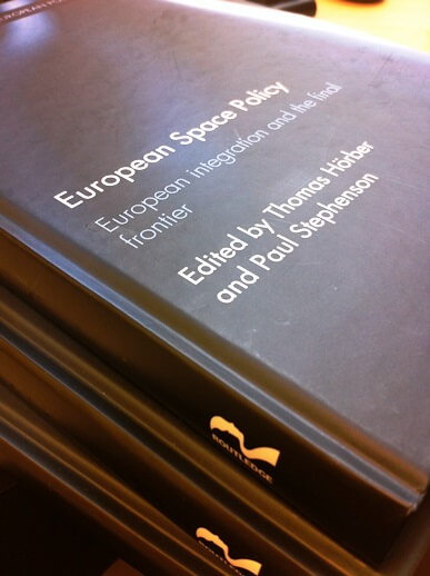 New book by Thomas Hoerber: European Space Policy - EU ...